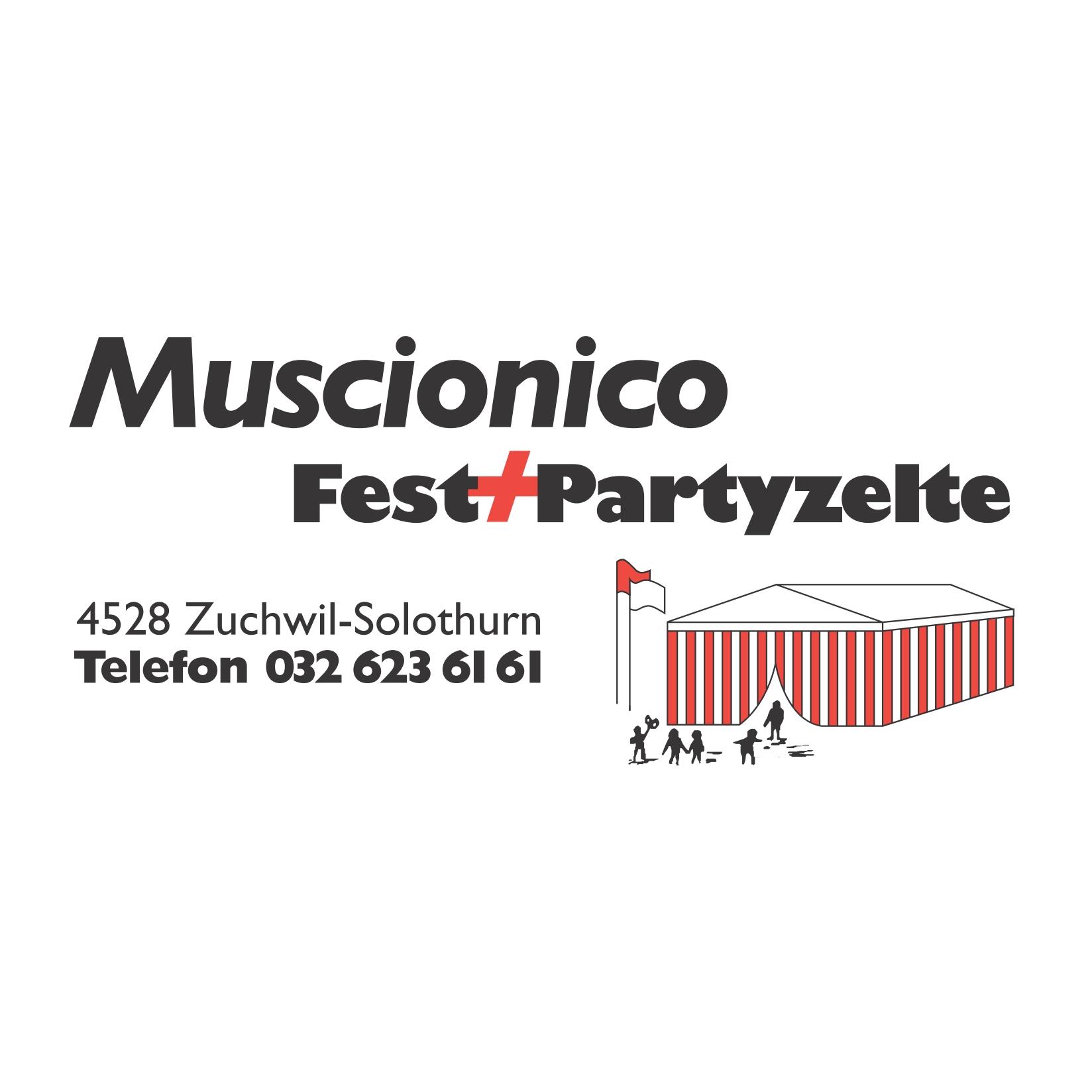 Muscionico GmbH Fest-& Paryzeltvermietung