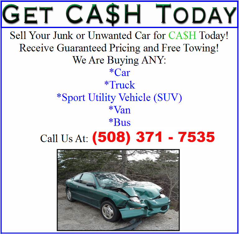 1A CASH FOR JUNK CAR