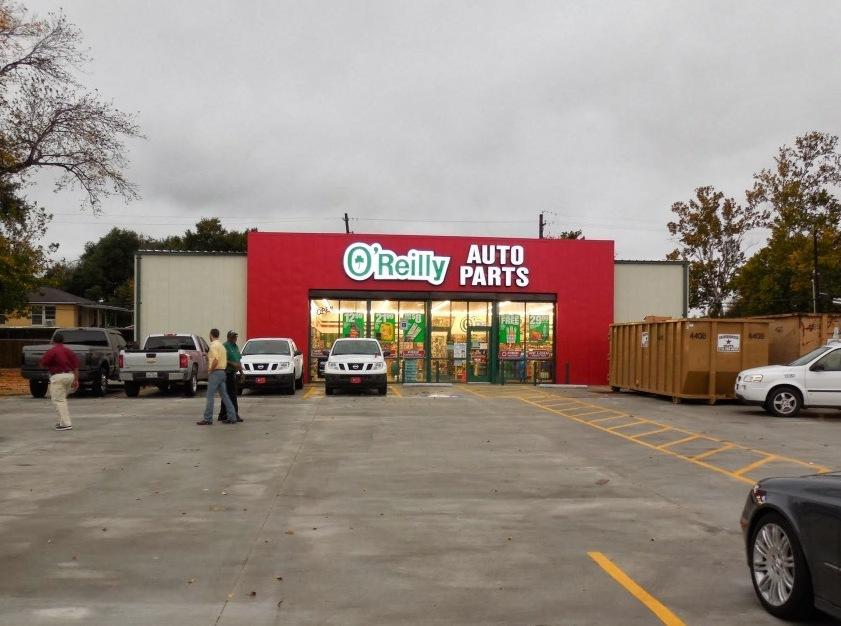 O 39 reilly auto parts houston texas tx for Royal motors houston tx
