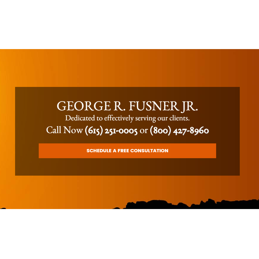 Law Office of George R Fusner Jr Injury Lawyer