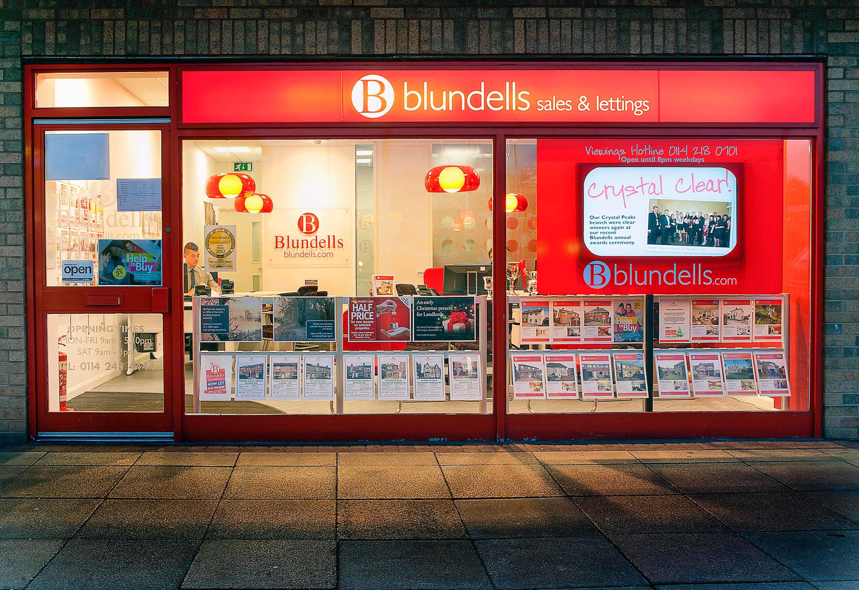 Blundells Estate Agents Crystal Peaks