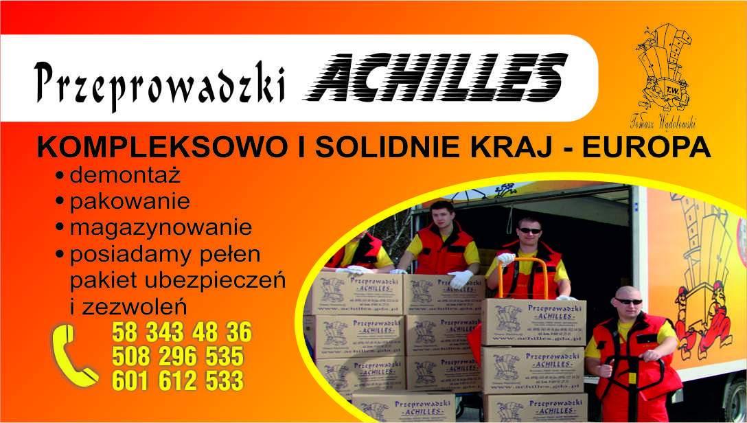 Achilles Usługi Transportowe Tomasz Wądołowski
