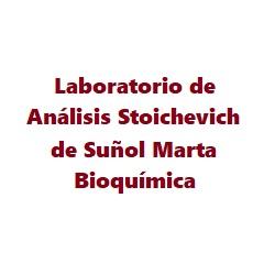 LABORATORIO DE ANALISIS STOICHEVICH DE SUÑOL MARTA BIOQUIMICA