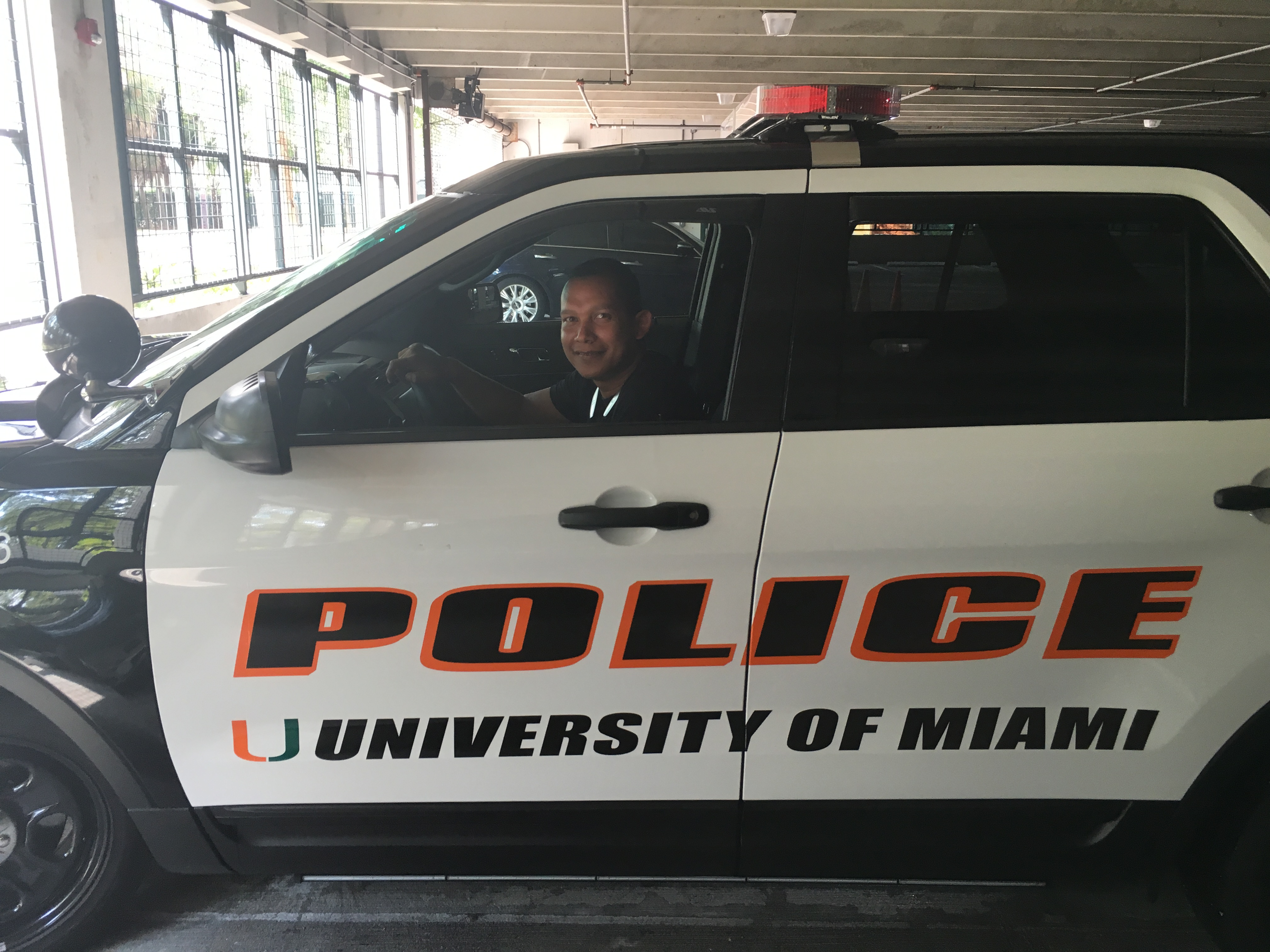 We do works to Miami police...