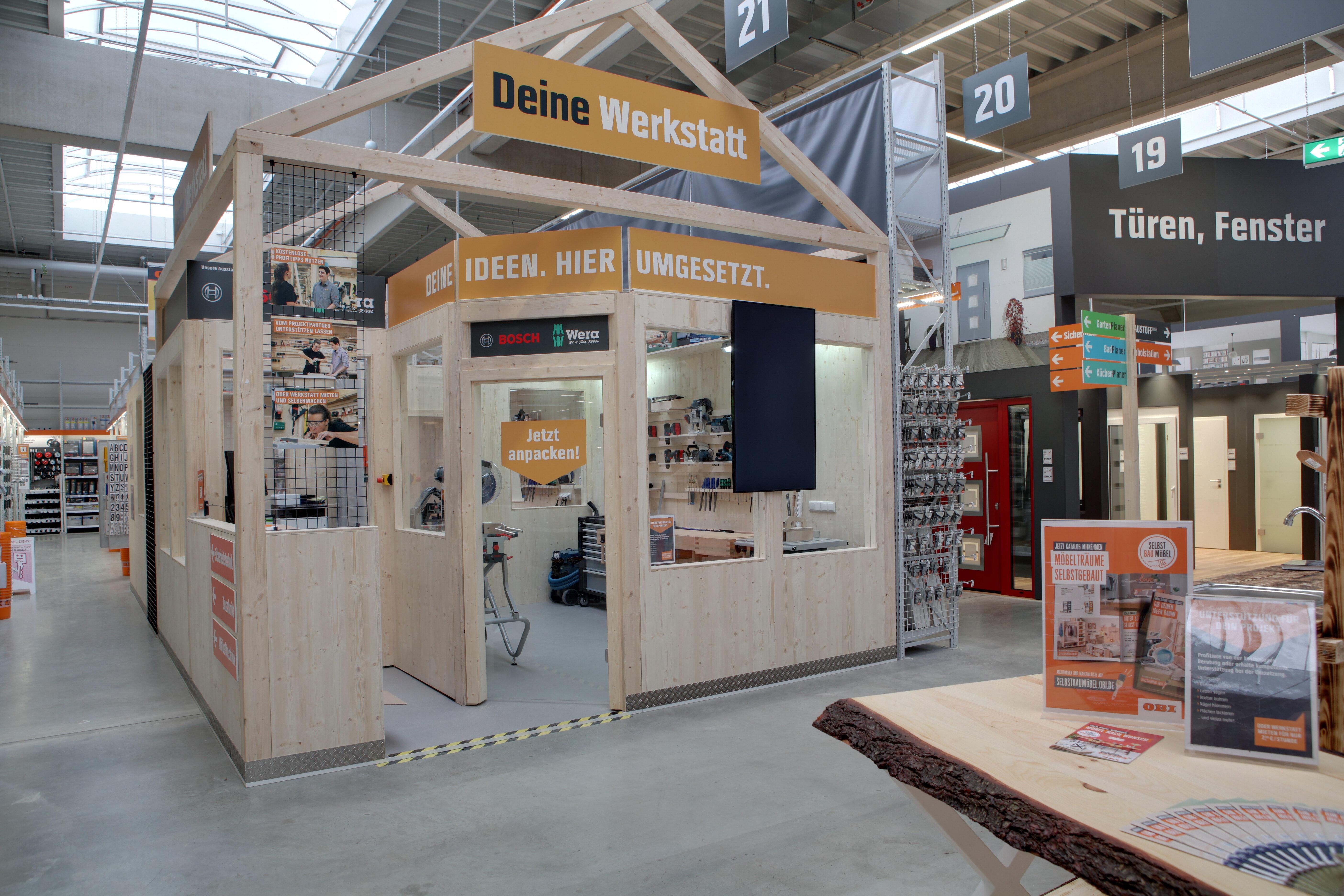 Deine Werkstatt im OBI Bensheim