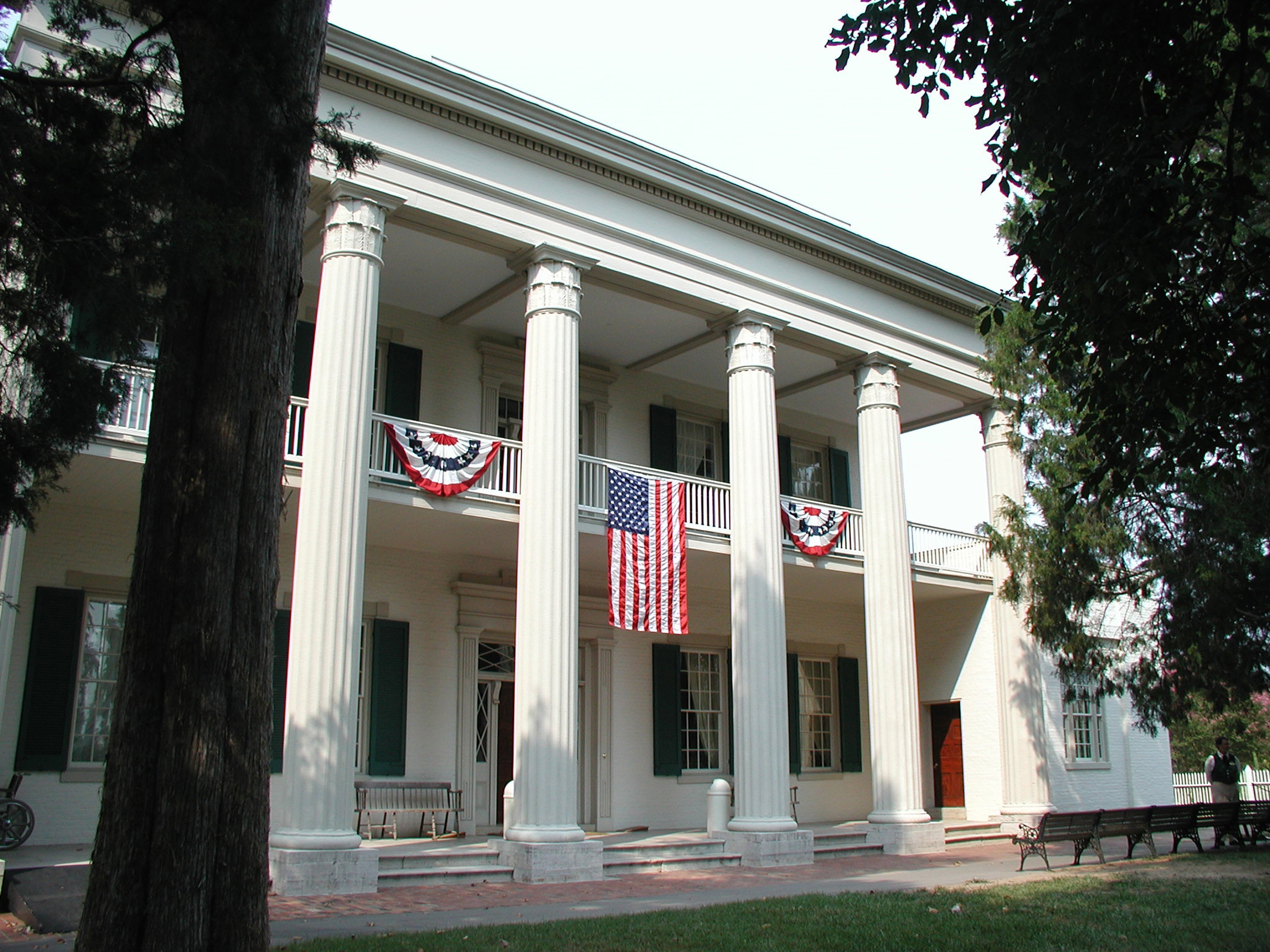 The hermitage home of president andrew jackson in for Hermitage house