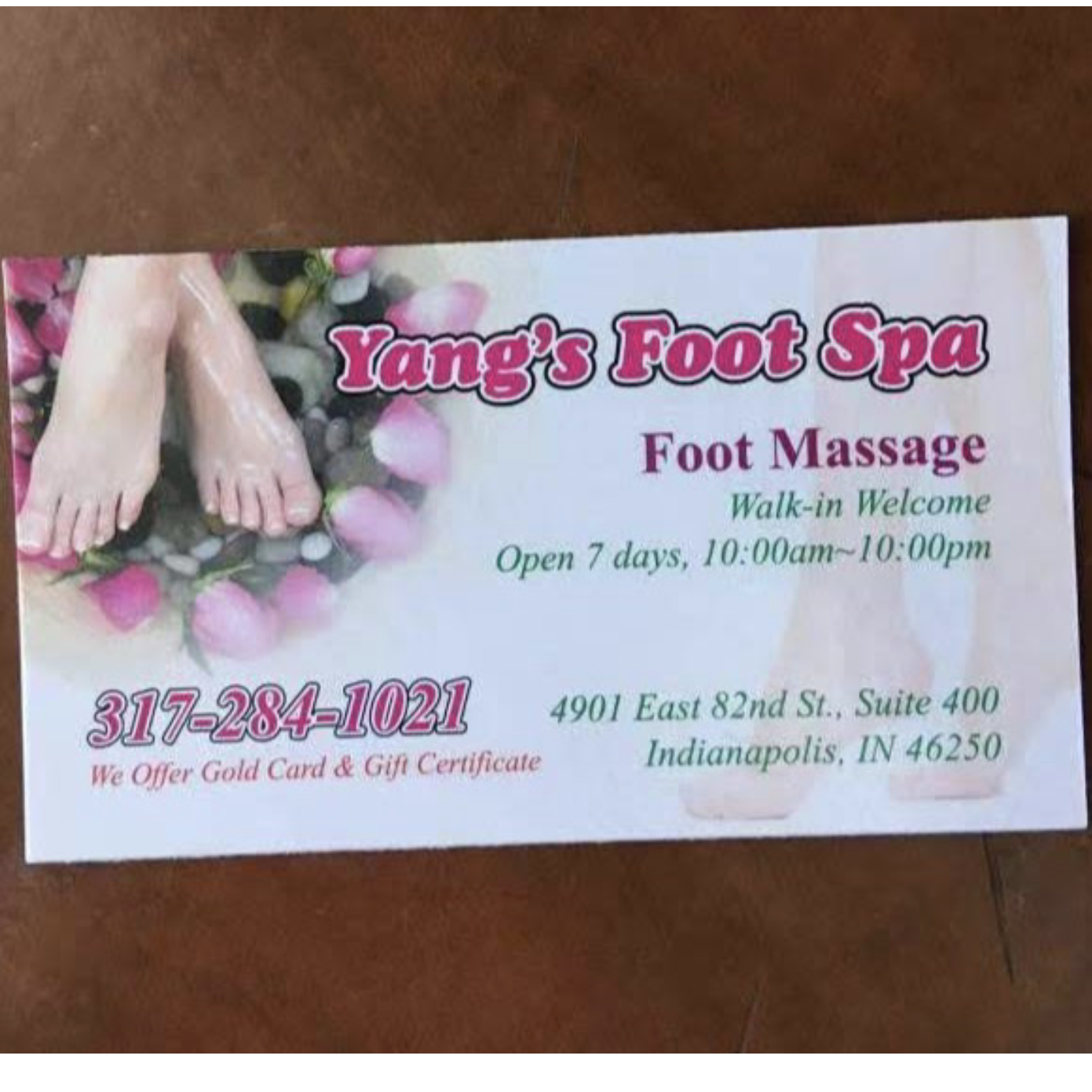 Yang's Foot Spa