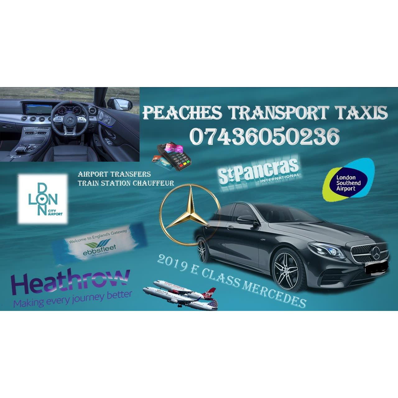 Peaches Chauffeur Taxis Southend on Sea Essex Westcliff-On-Sea 07436 050236