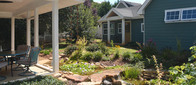 I can create a beautiful garden design that brings out the features of your home in Charlotte.