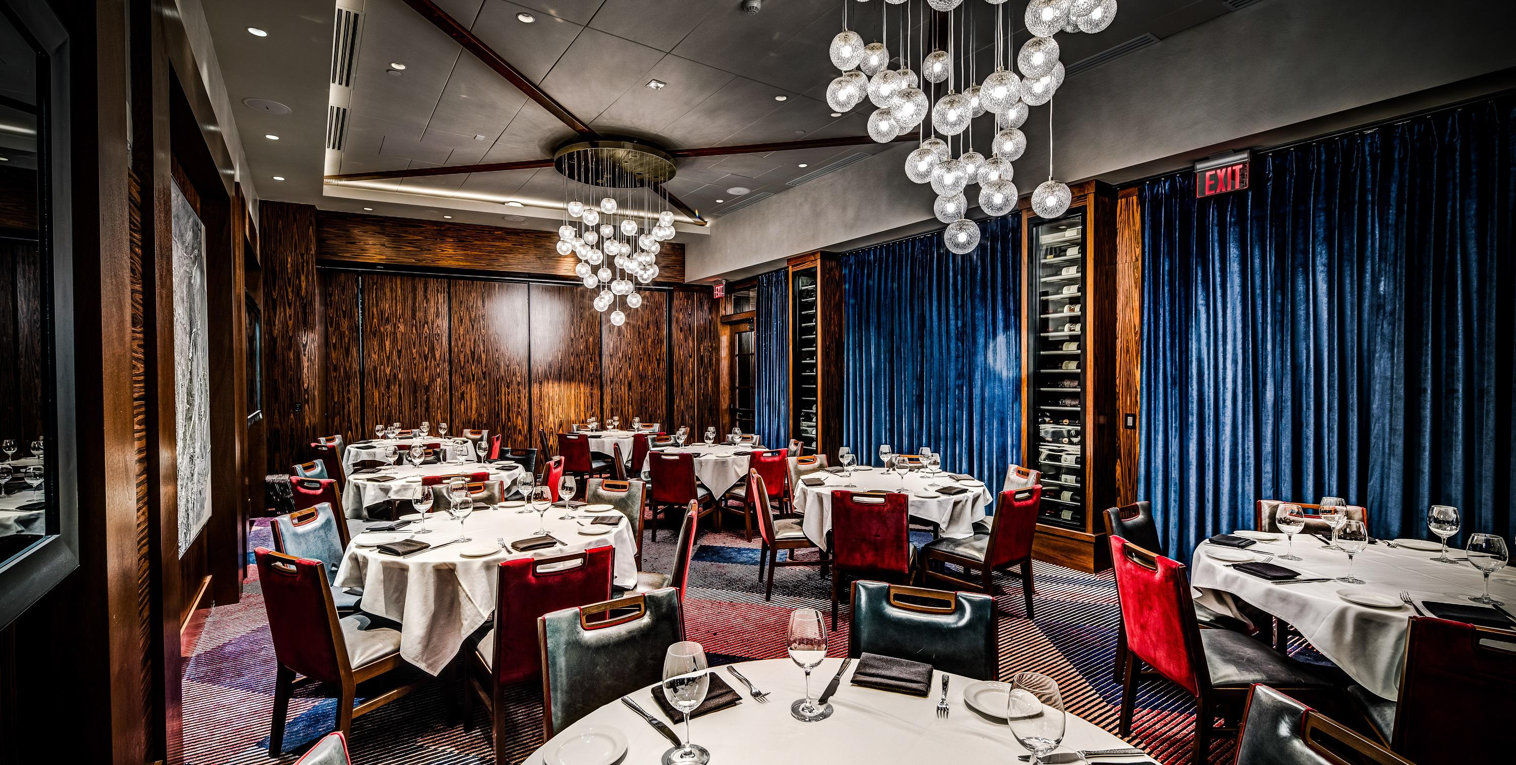 Del Frisco's Double Eagle Steakhouse Los Angeles Eagle One private dining room