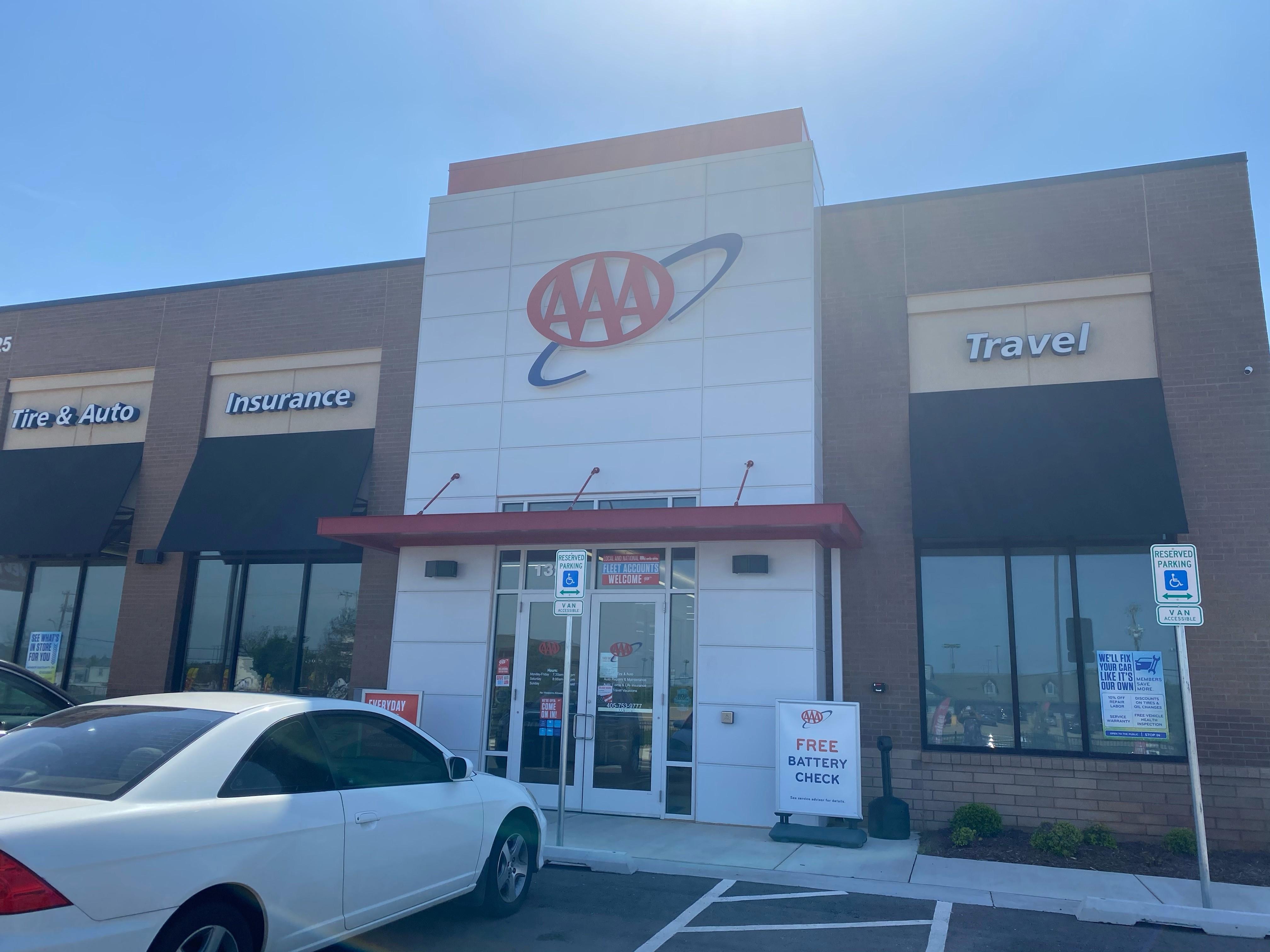 AAA OKC – Quail Springs Tire & Auto Insurance Travel Center