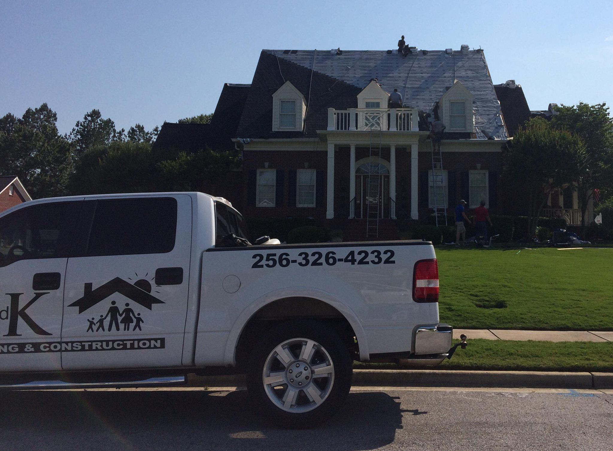 C And K Roofing Amp Construction Services Llc Huntsville