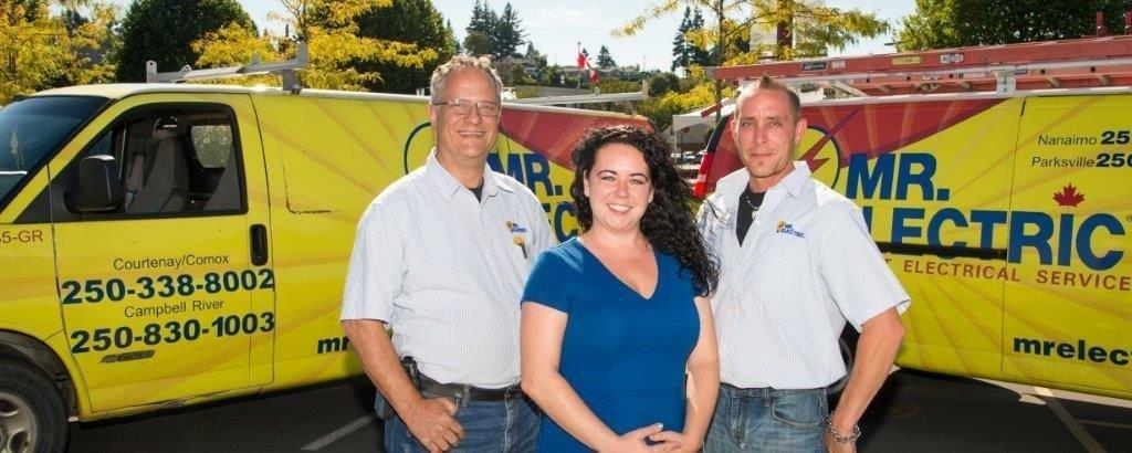 Electrician in BC Campbell River V9W 3G2 Mr. Electric of Campbell River, Courtenay, Comox 1690 Maple St R (250)984-7024