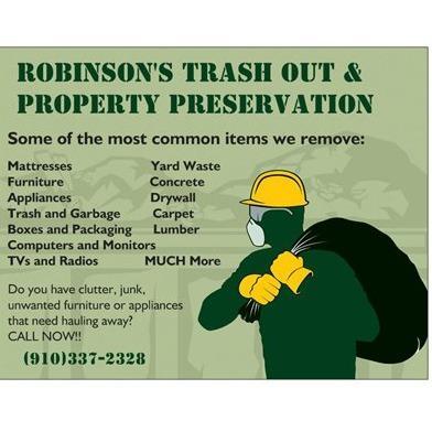 Robinson's Trash Out & Property Preservation