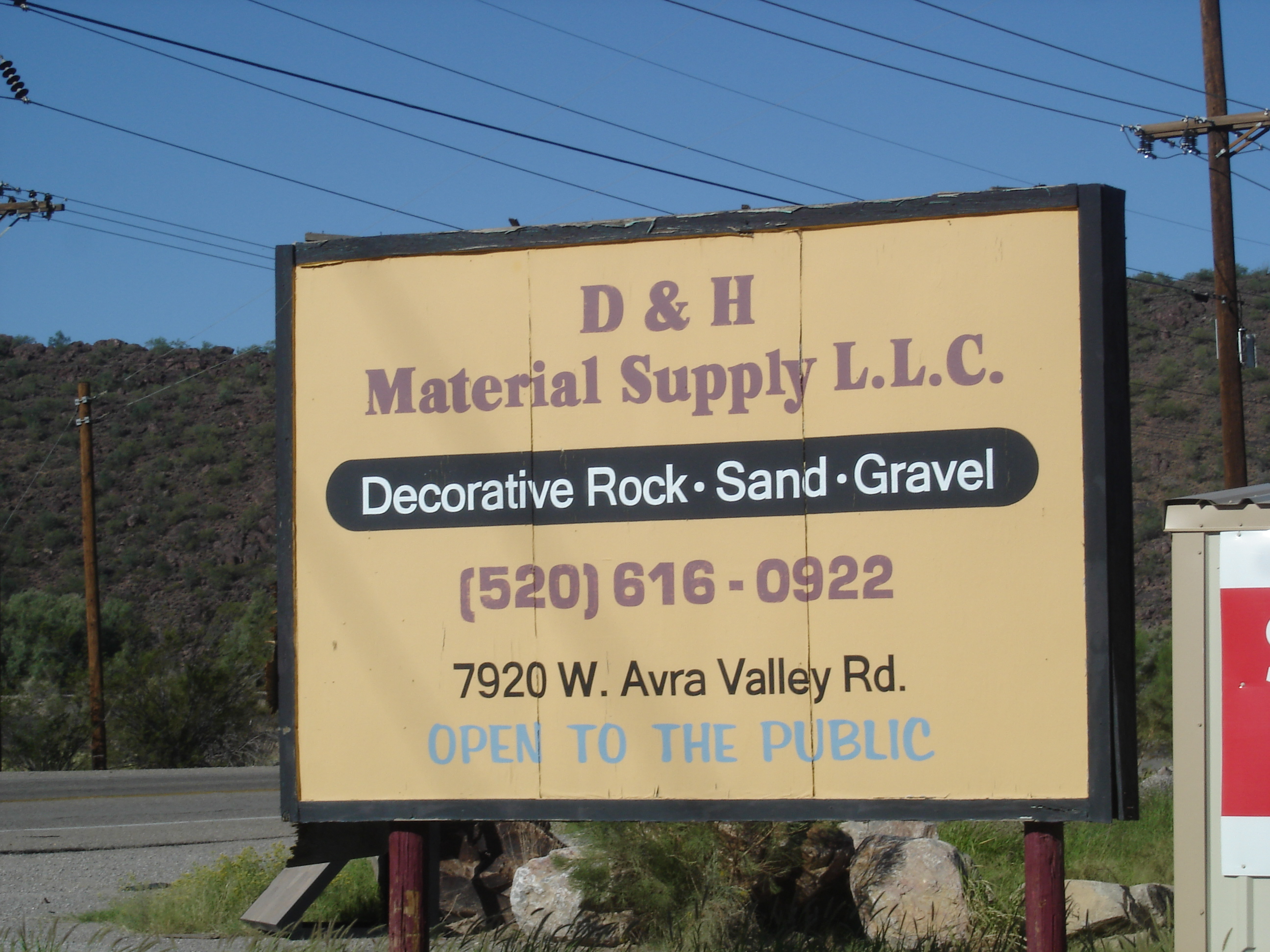 D AND H MATERIAL SUPPLY LLC