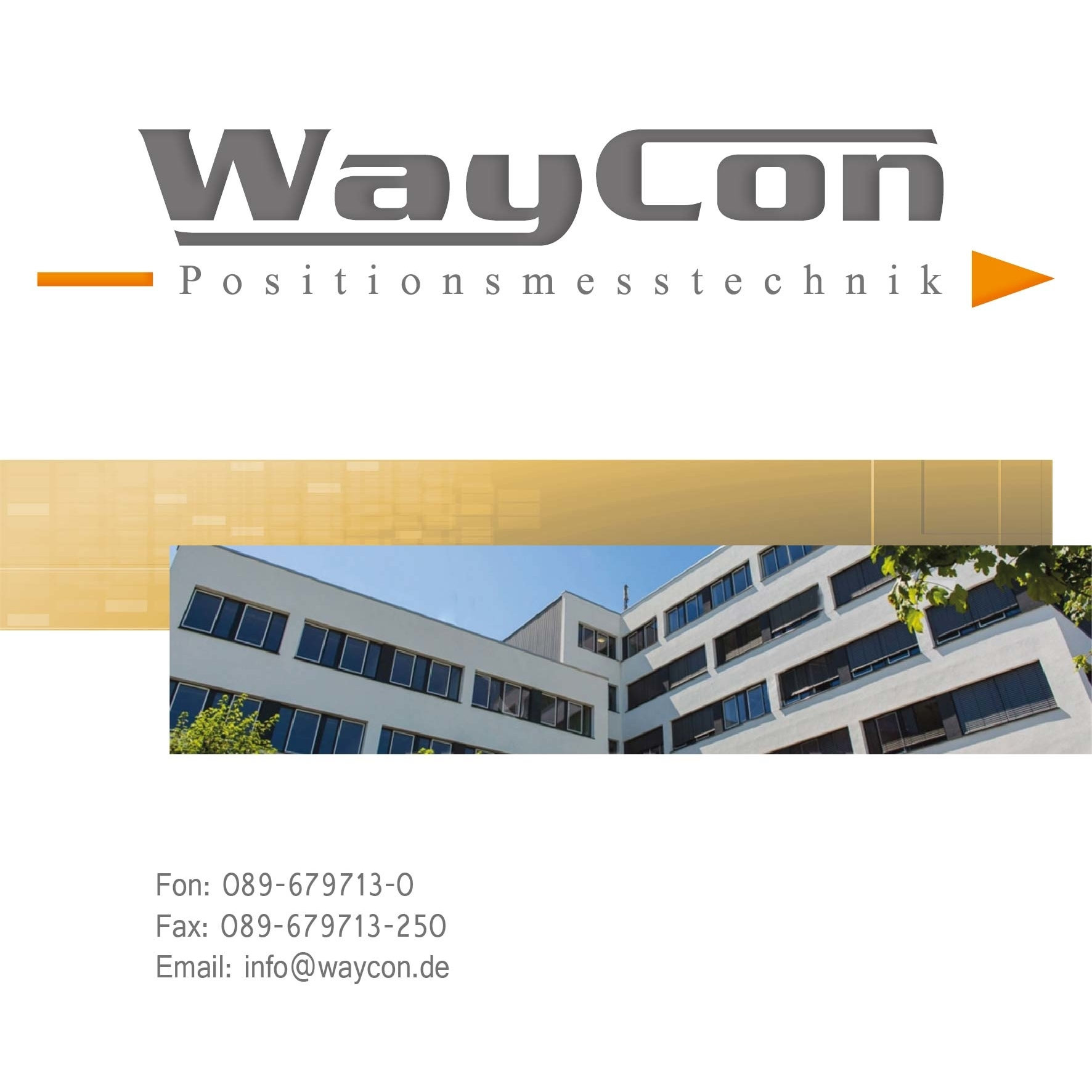 WayCon Positionsmesstechnik GmbH