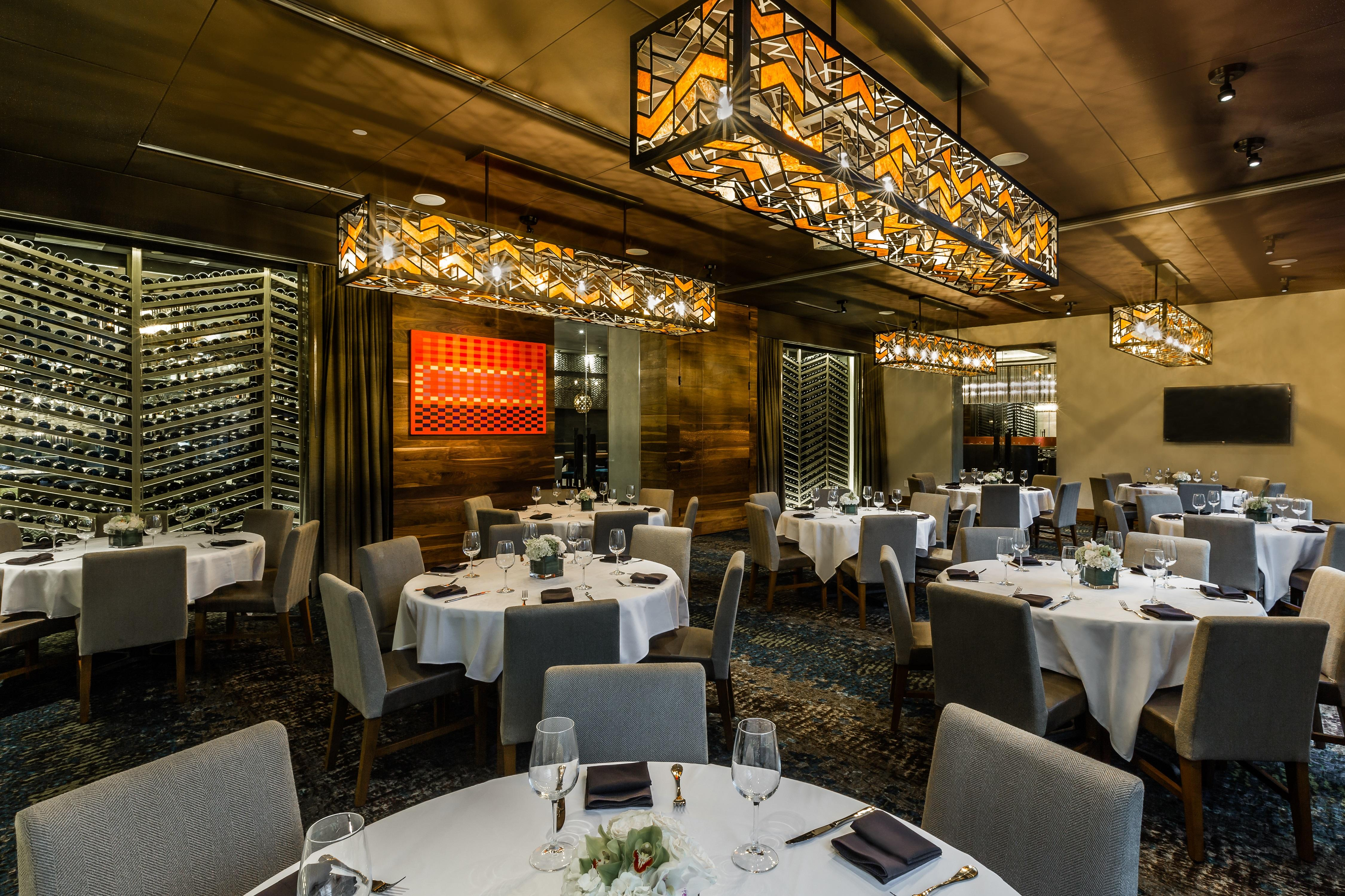 Del Frisco's Double Eagle Steakhouse Orlando GRAND CRU (WHOLE CELLAR) private dining room