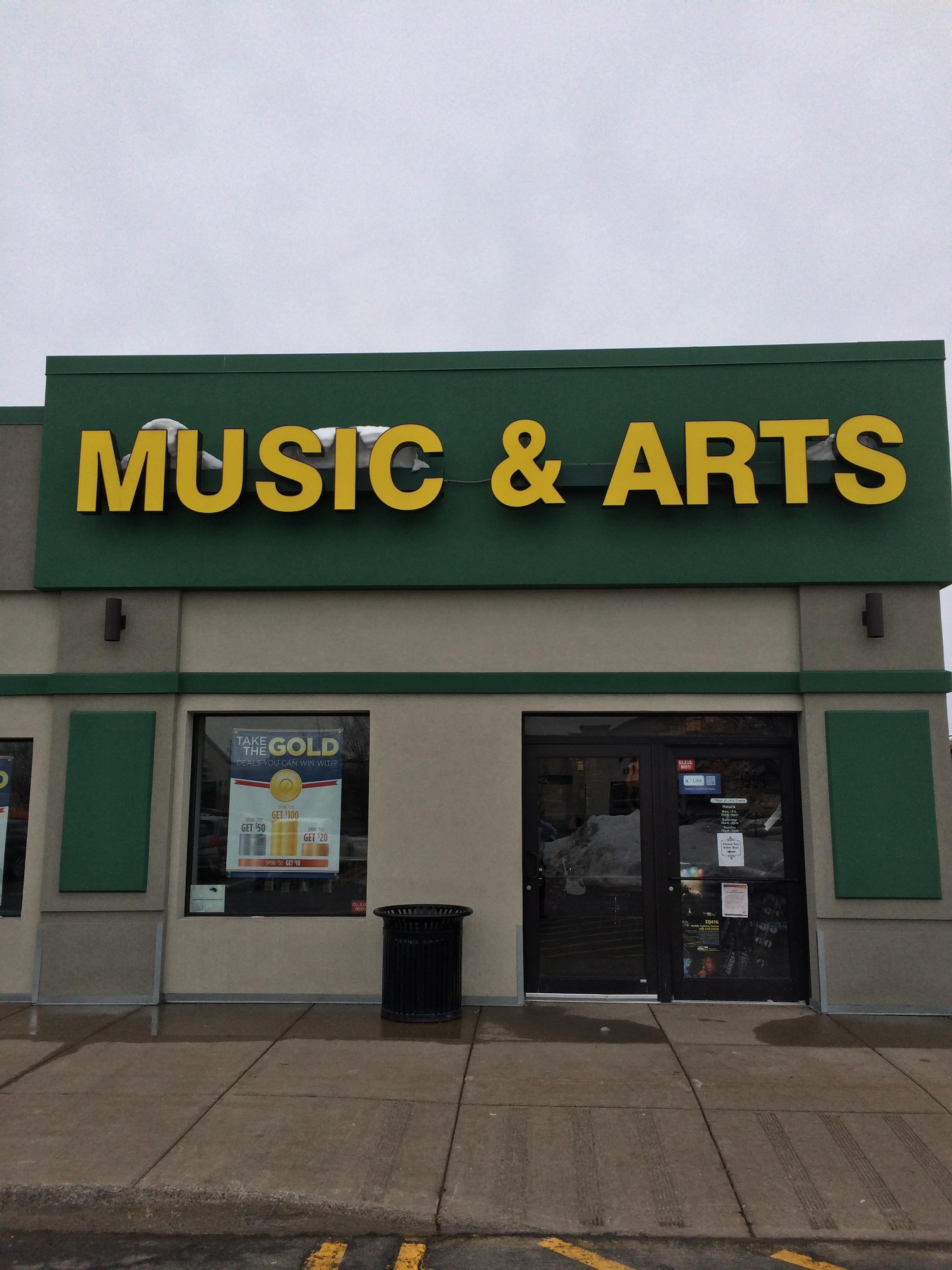 the arts music store coupon