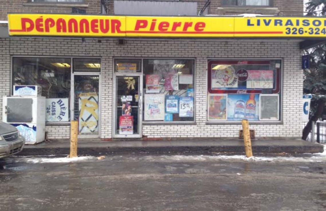 Au Dépanneur Pierre à Montréal-Nord