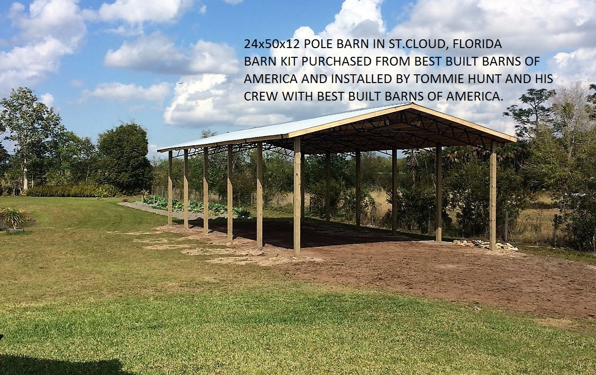 Best built barns of america in chiefland fl 32626 for Best pole barns