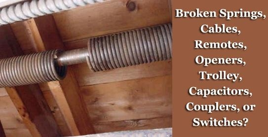 Our Quality Garage Door Services: