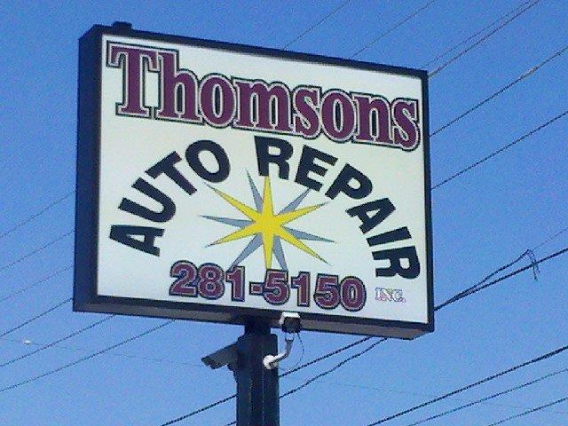 Thomson's Auto Repair