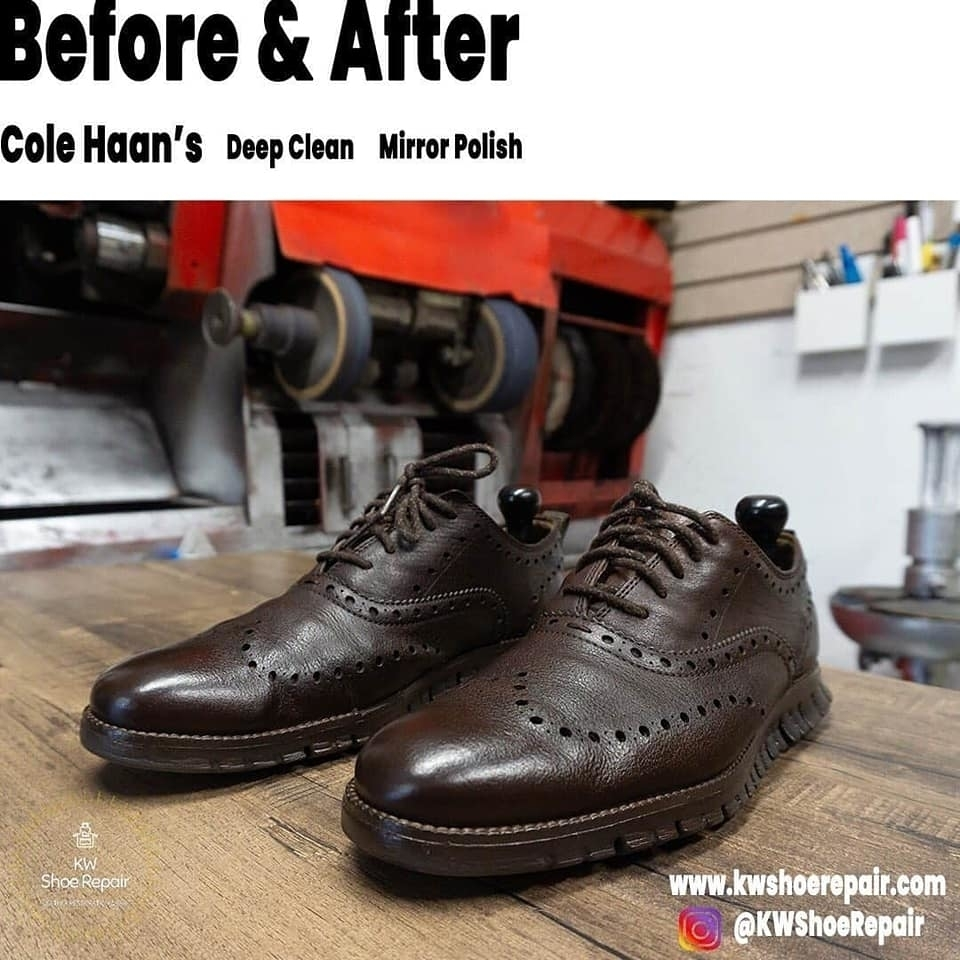 KW Shoe Repair & Sneaker Cleaning Service in Kitchener: Looking for a deep cleaning or professional polishing service for your shoes - @KWShoeRepair is who to call. Why? ?Fast turnaround ?Quality service ?Save you money Inquires and quote requests: ??Direct Message ??kwshoerepair@gmail.com ??519-893-6863