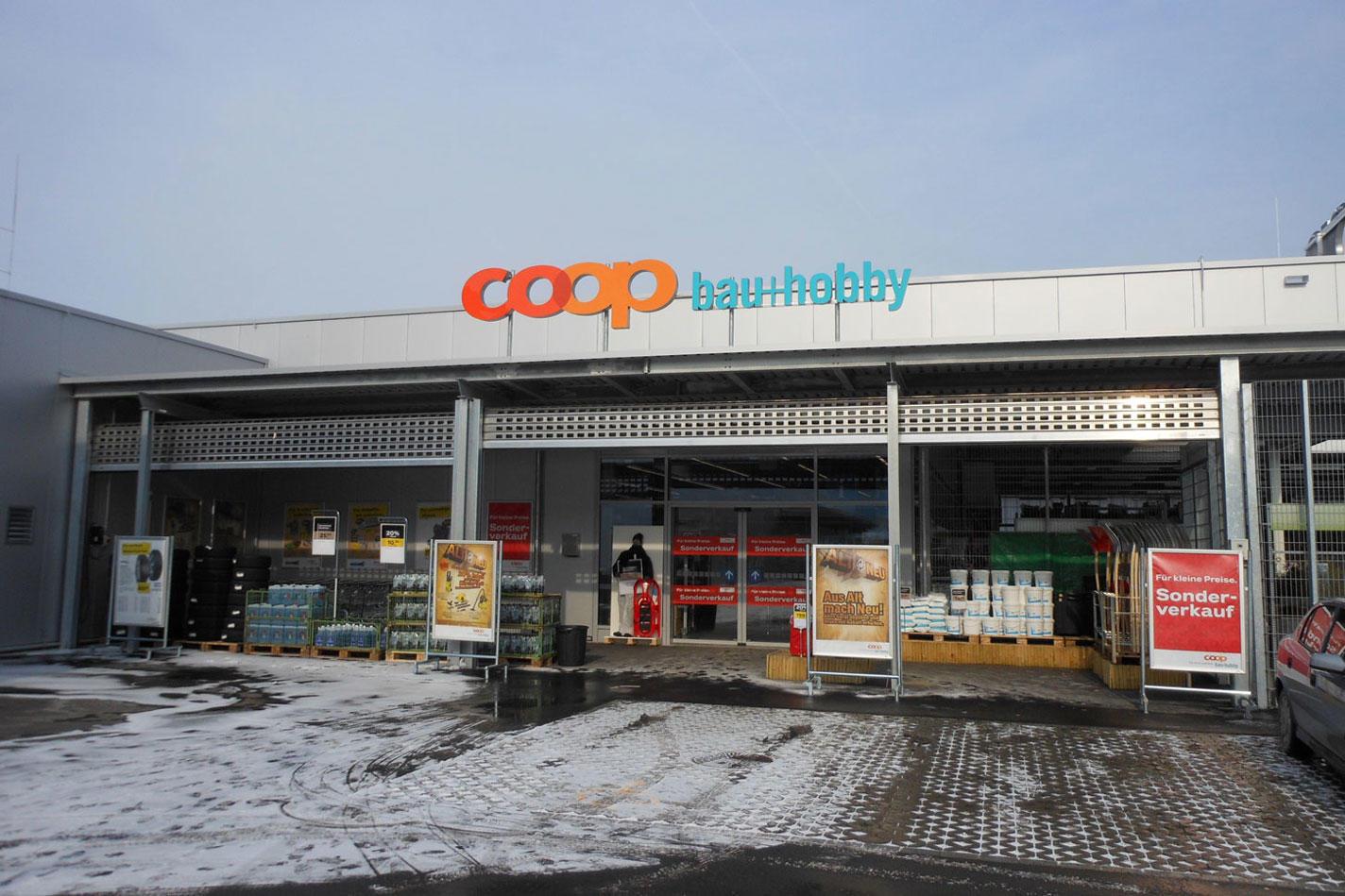 Coop bau und hobby dübendorf