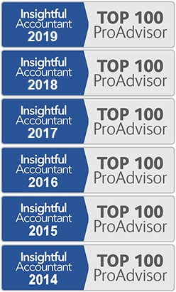 Keith Gormezano is one of the Top 100 ProAdvisors in the US by Insightful Accountant from 2014 to 2019.