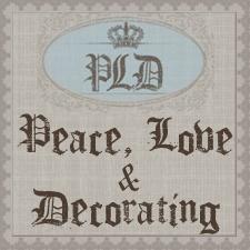 Peace, Love & Decorating