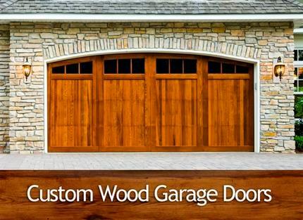 Custom Wood Doors at Davis Door Service
