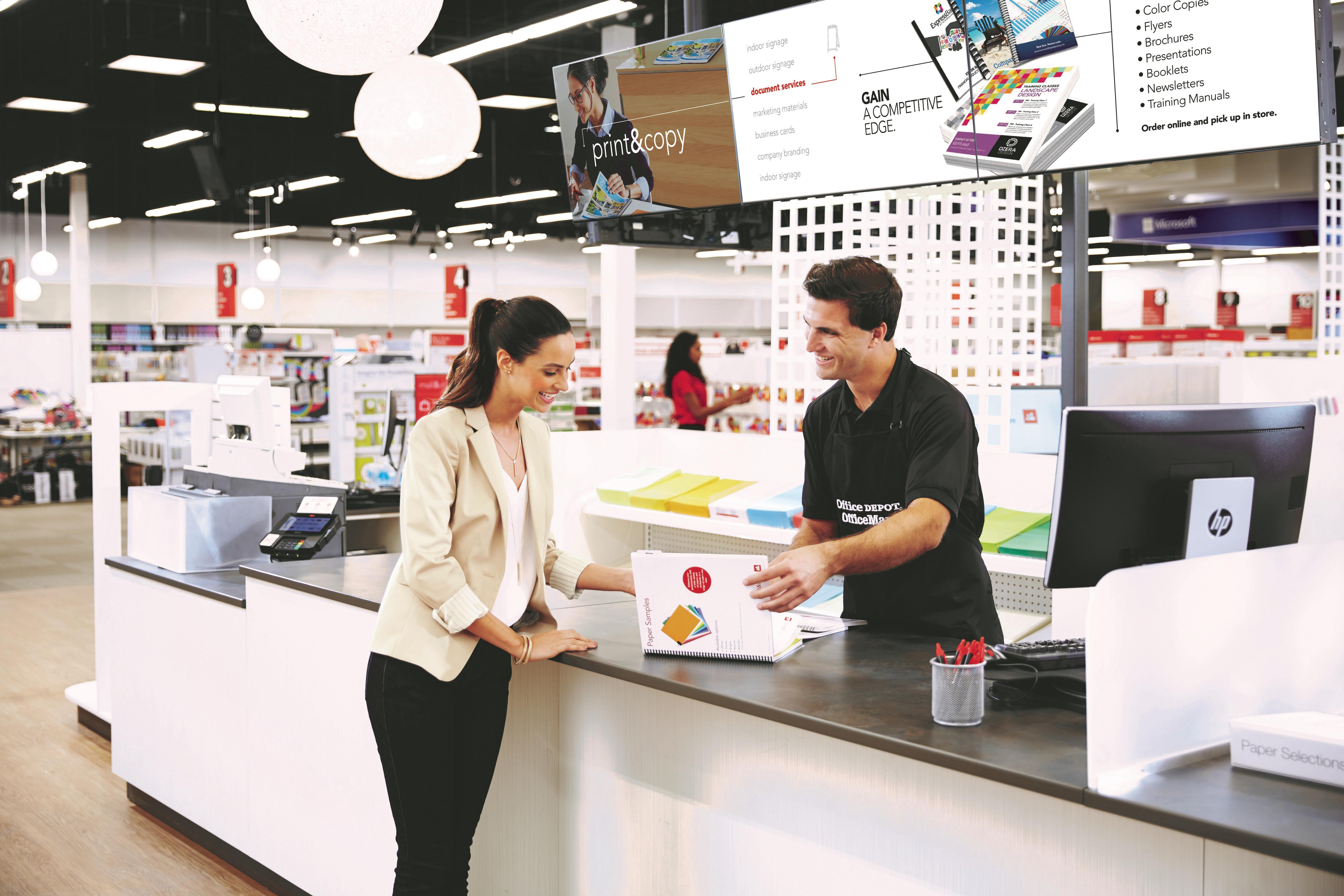 Charmant Bring Your Print Or Copy Jobs To An Office Depot Or OfficeMax Store Our  Print U0026 Copy Associates Are Here To Help. Create. Print. Pack. Ship Done  Right.