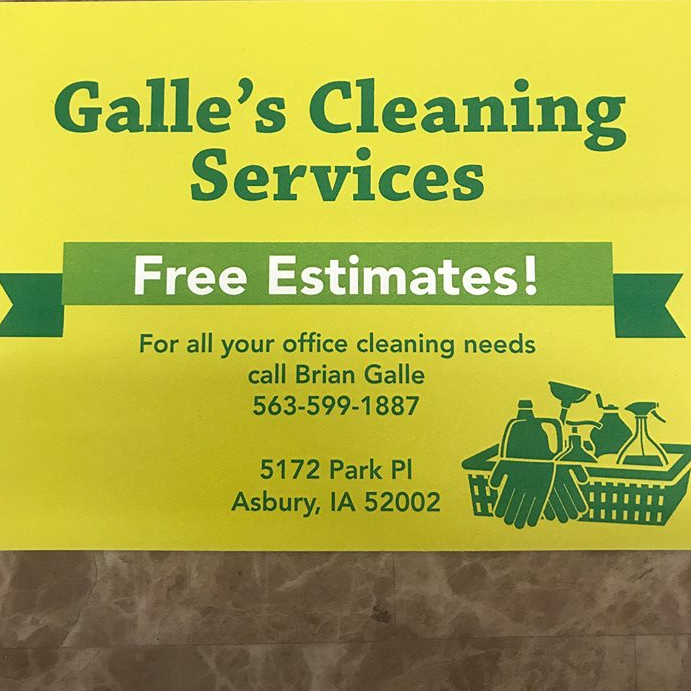Galle's Cleaning Service - Dubuque, IA 52002 - (563)599-1887 | ShowMeLocal.com
