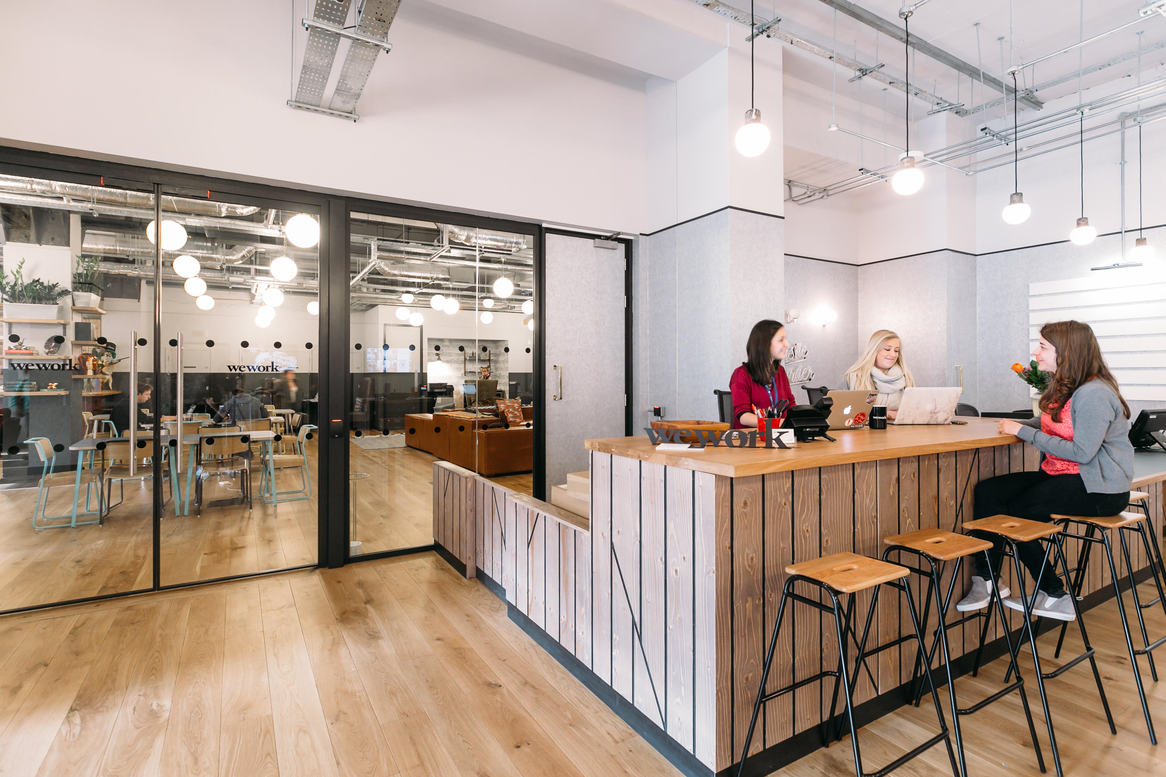 Example shown: Community Bar (Chancery Lane, London) WeWork 33 Queen St London 020 3695 7895