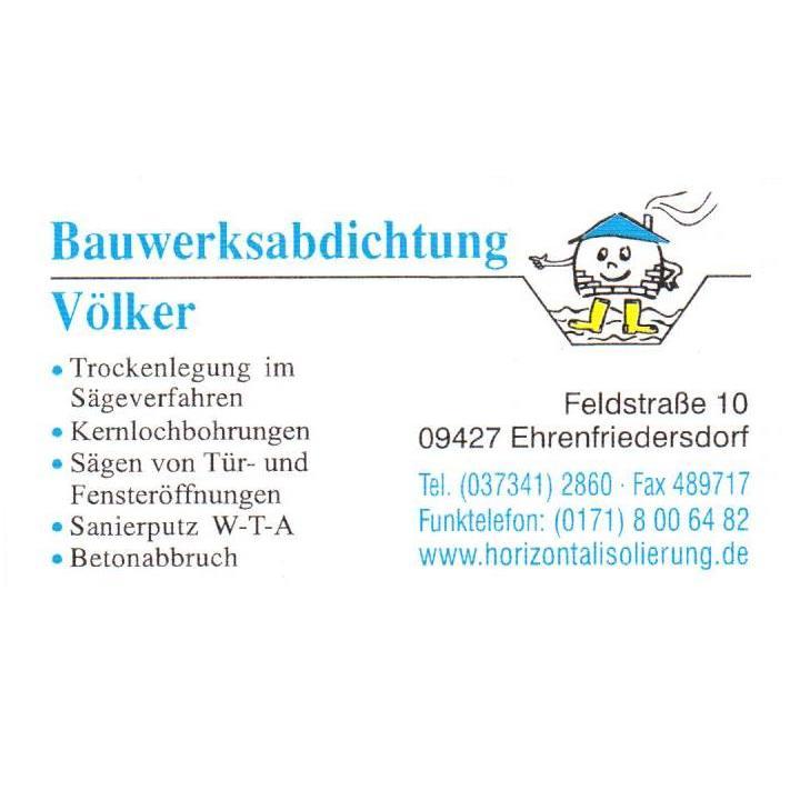 Bauwerksabdichtung Volker In Ehrenfriedersdorf Feldstrasse 10
