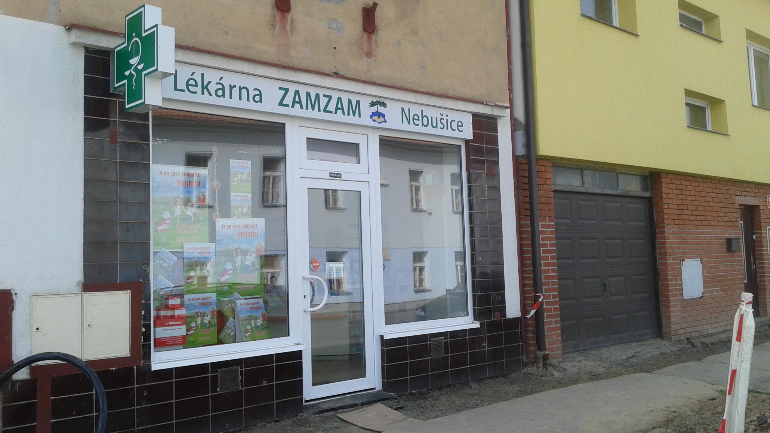 Lékárna ZAMZAM s.r.o. - Nebušice