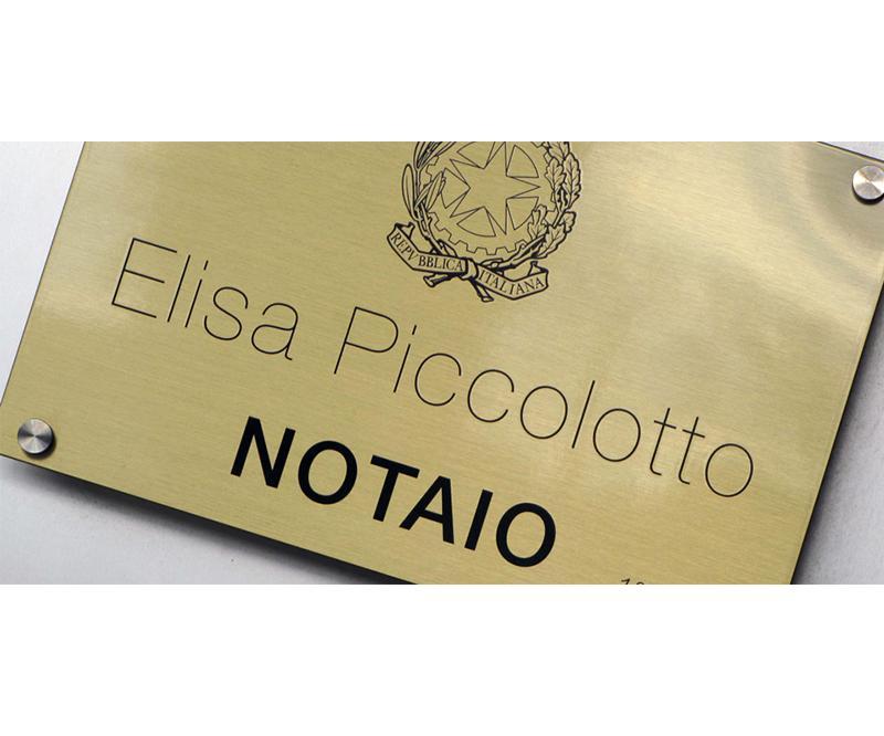 Notaio Elisa Piccolotto