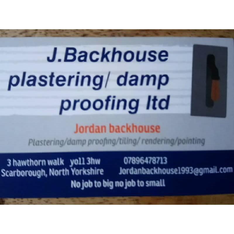 J Backhouse Builders & Plasterers - Scarborough, North Yorkshire YO11 3HW - 07896 478713 | ShowMeLocal.com