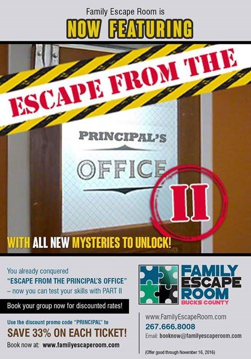 Family Escape Room In Langhorne 340 E Maple Avenue