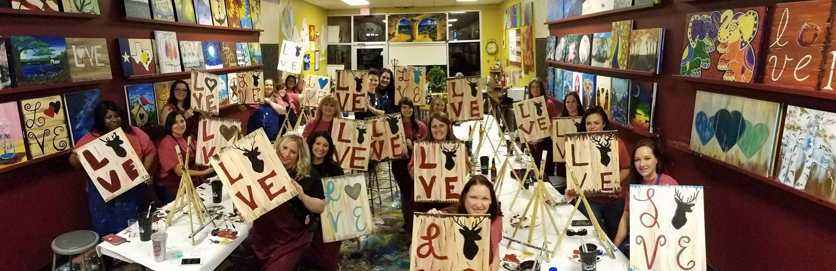 painting with a twist in greenville tx 75402