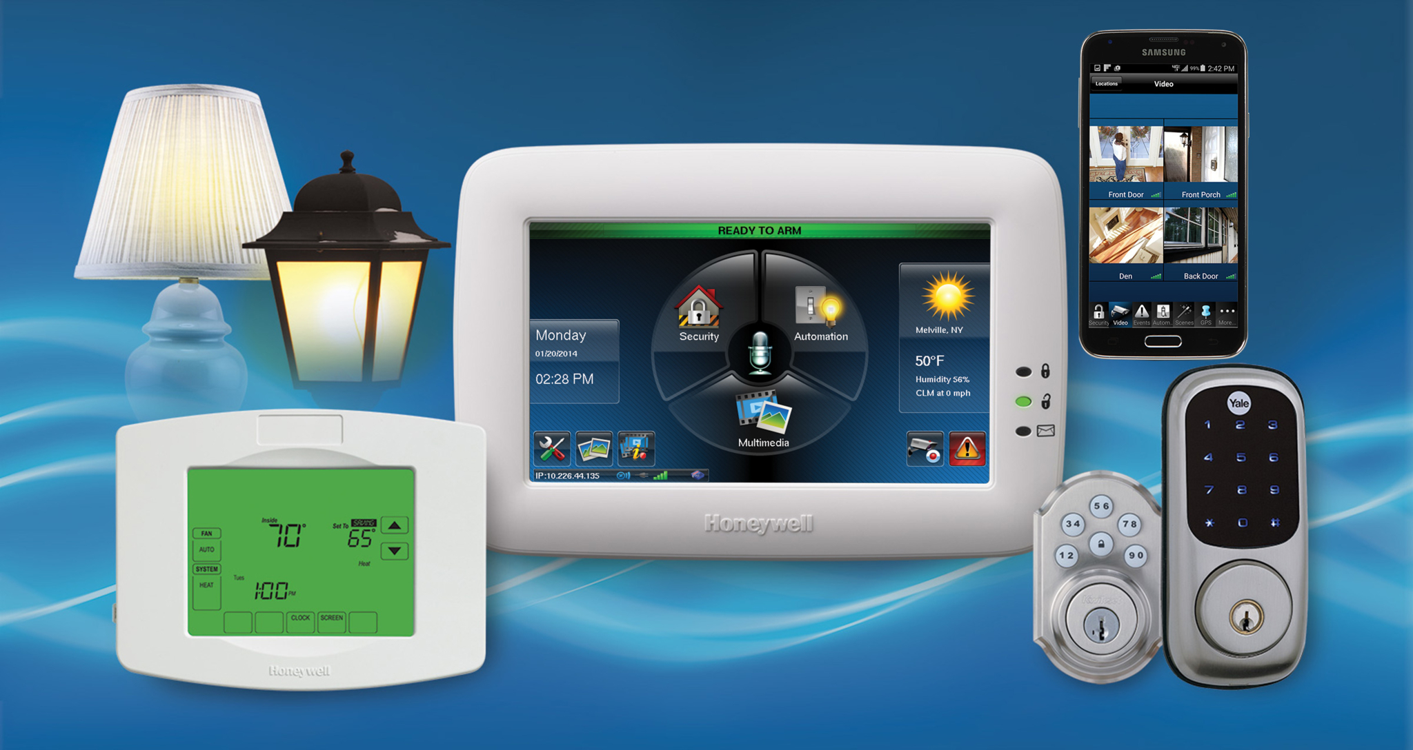 Total Connect allows you to easily connect to your alarm system from any computer or mobile device t Best Security Okanagan Kelowna (250)826-8395