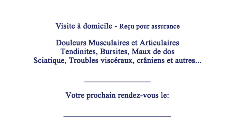 Clinique d'Ostéopathie St-Jean-Sur-Le-Richelieu