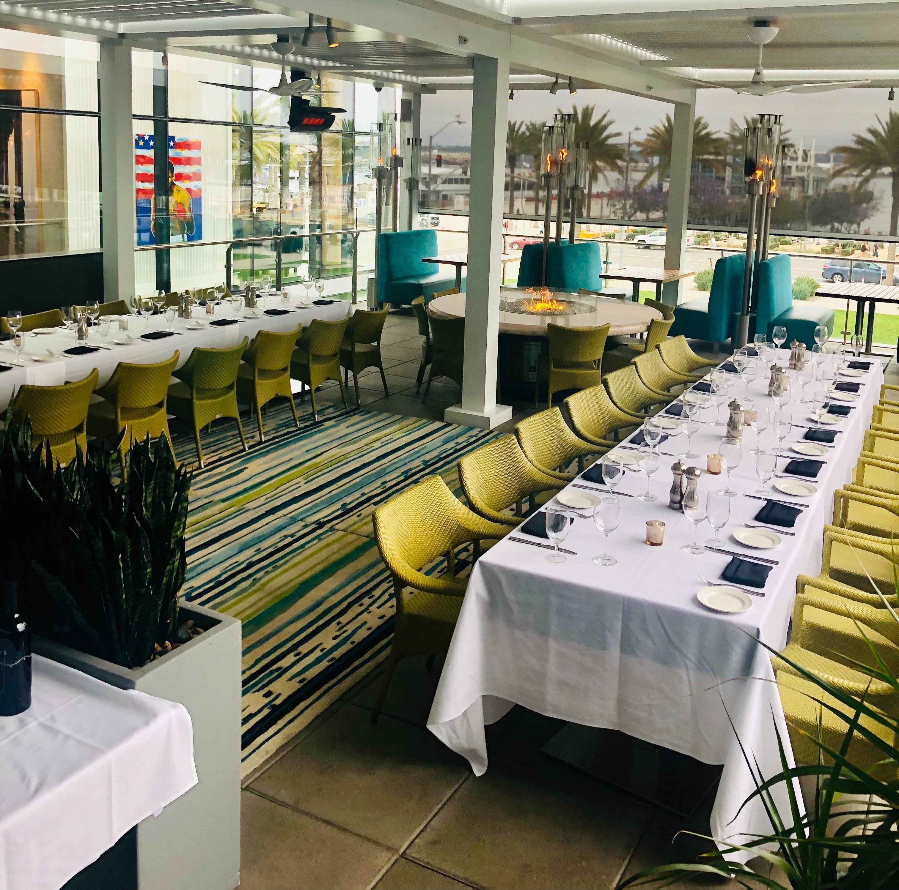 Del Frisco's Double Eagle Steakhouse San Diego Rooftop Patio private dining room