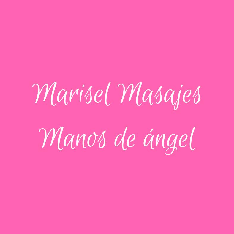 MARISEL MASAJES MANOS DE ANGELES