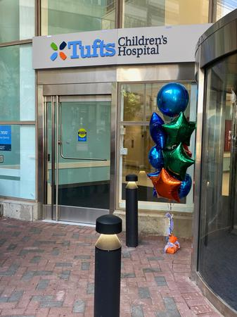 Welcome to the new Street Level entrance to Tufts Children's Hospital