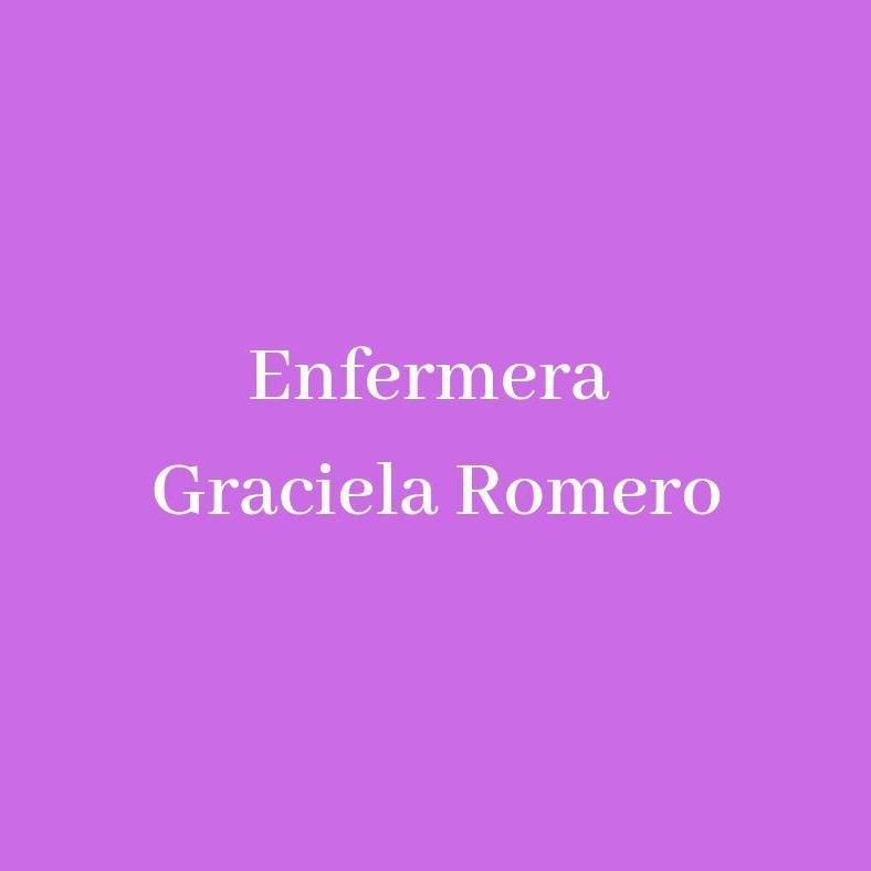 ENFERMERA - GRACIELA ROMERO