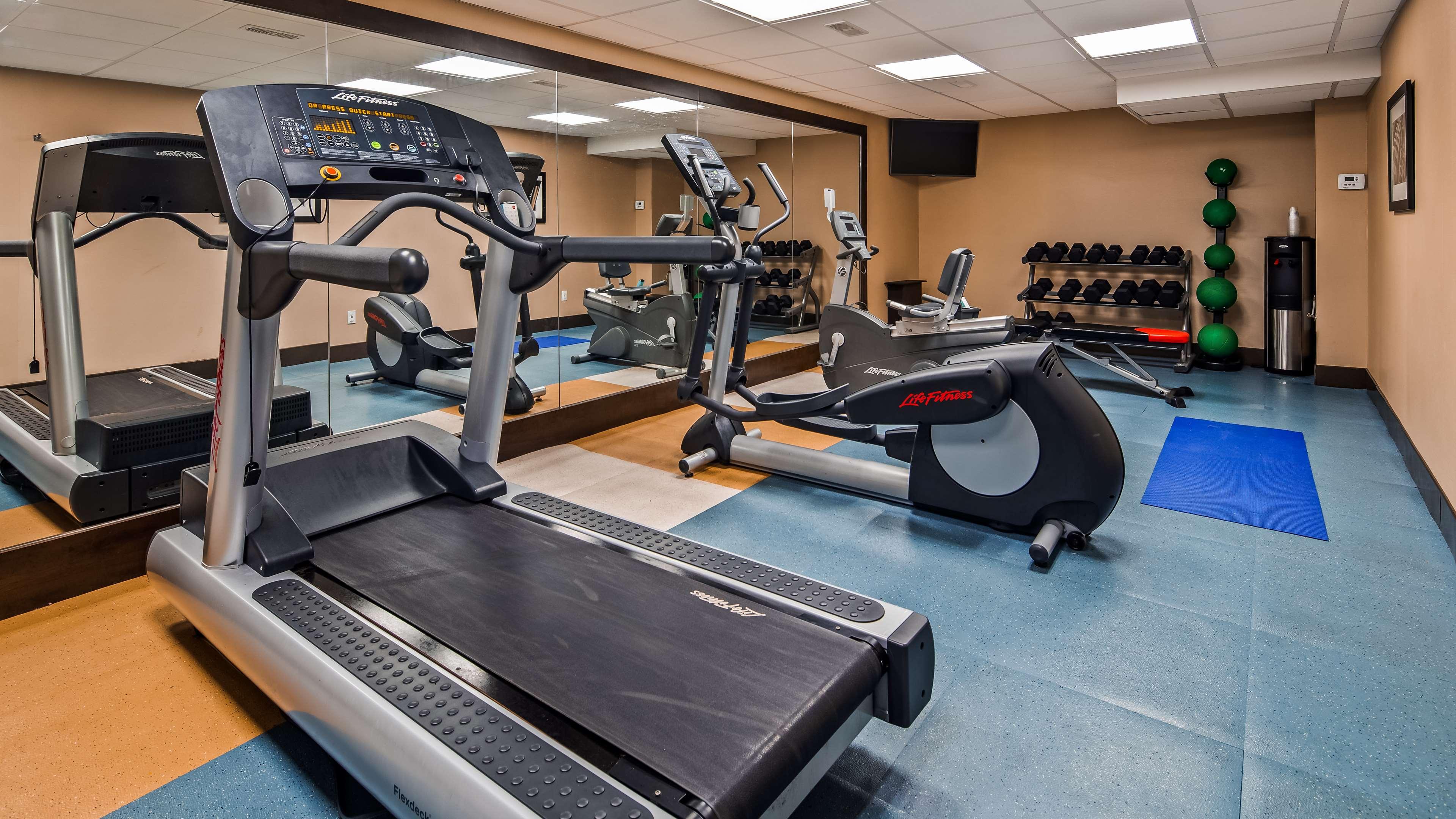 Fitness Centre Best Western Plus Leamington Hotel & Conference Centre Leamington (519)326-8646
