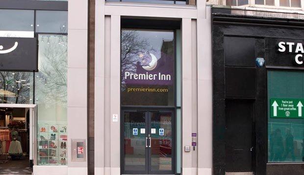 Premier Inn Edinburgh City Centre Princes Street