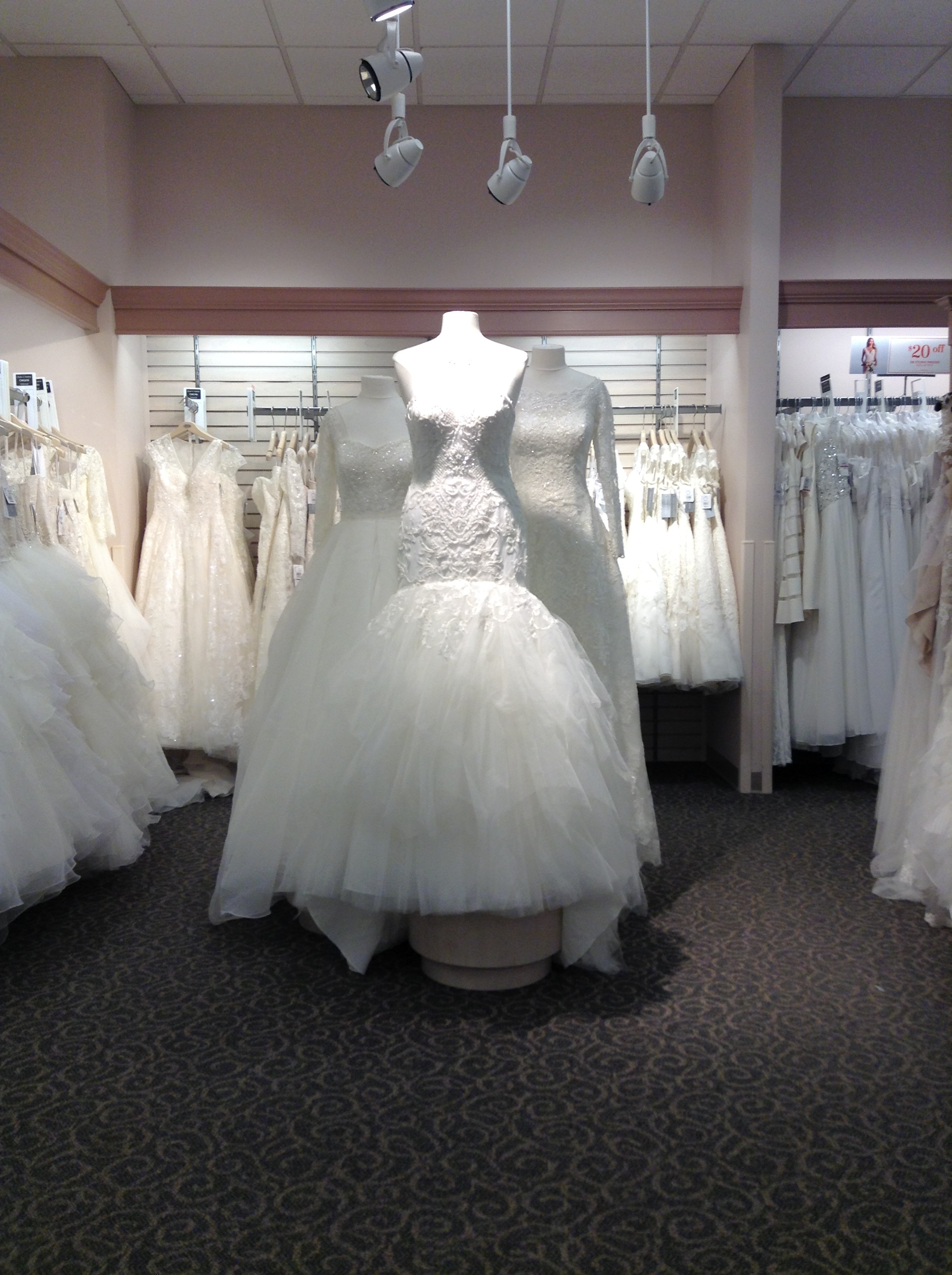 Welcome to David's Bridal Columbus, Georgia store, serving brides and special occasion customers of Midland, Phenix City, Fort Benning and more. David's Bridal is the ultimate one-stop shop for wedding dresses and all your formal apparel.