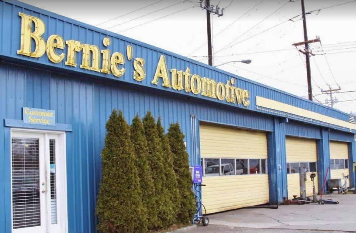 Bernie's Automotive on Market Street